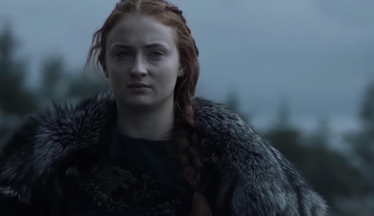 Sophie Turner interpreta a Sansa Stark en Game of Thrones (Foto: Netflix)