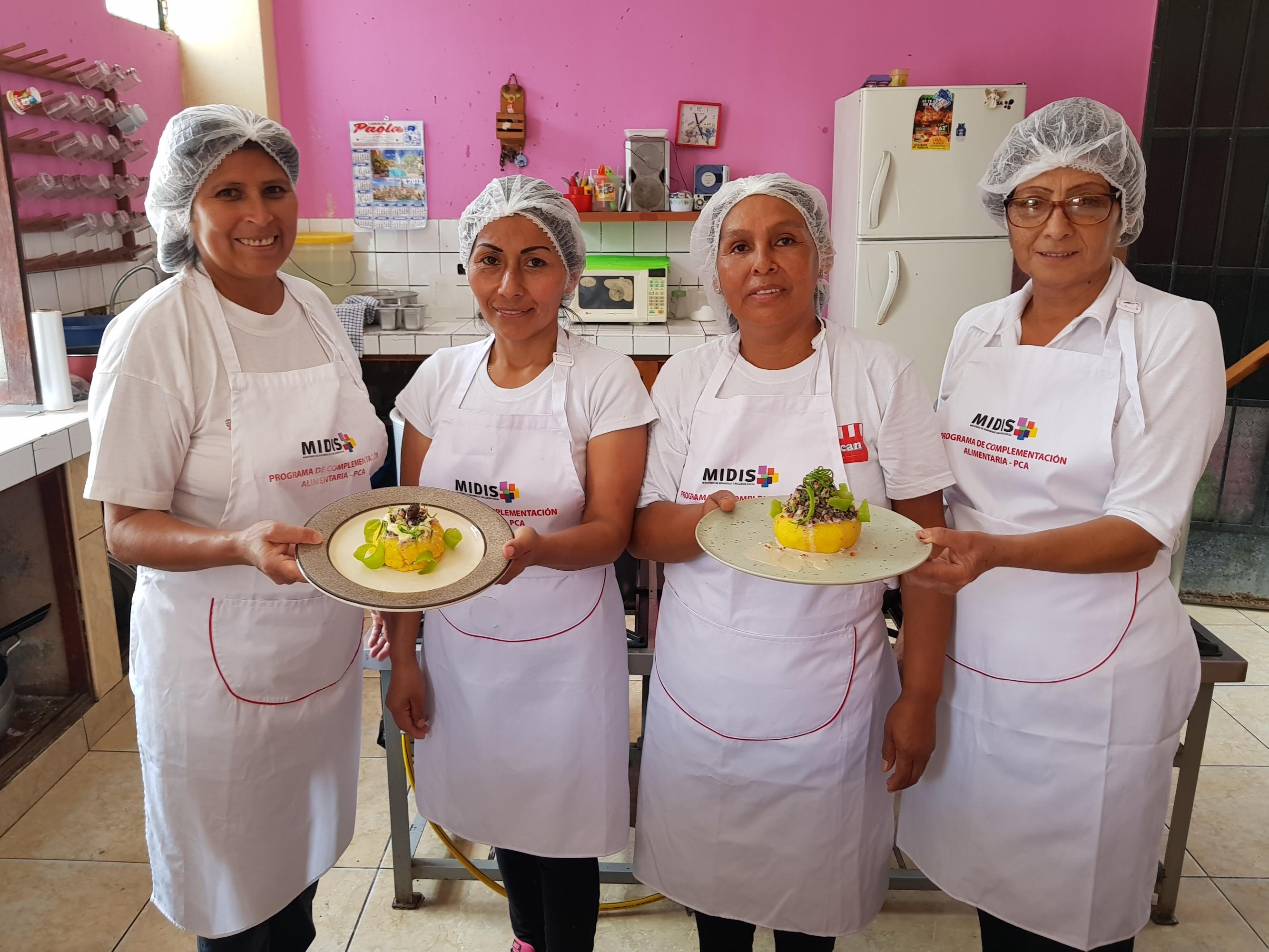 Lola Lescano, Julia Andía, Anita Clemente y Milagros Lucila son las creadoras de esta causa super nutritiva y llena de hierro.