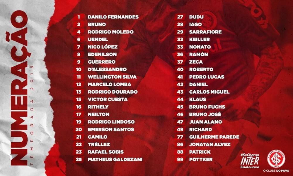 Paolo Guerrero usará la '9' en Inter de Porto Alegre.
