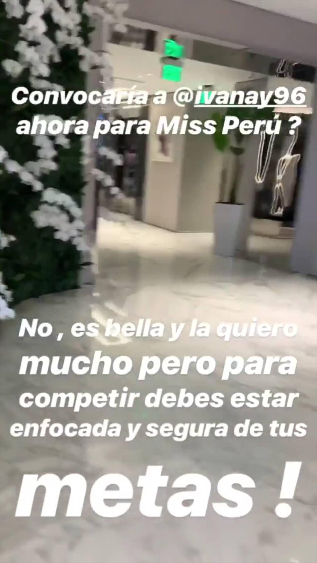Jessica Newton revela las razones por las que no convocará a Ivana Yturbe al Miss Perú. (Foto: @jessica.newton.777)