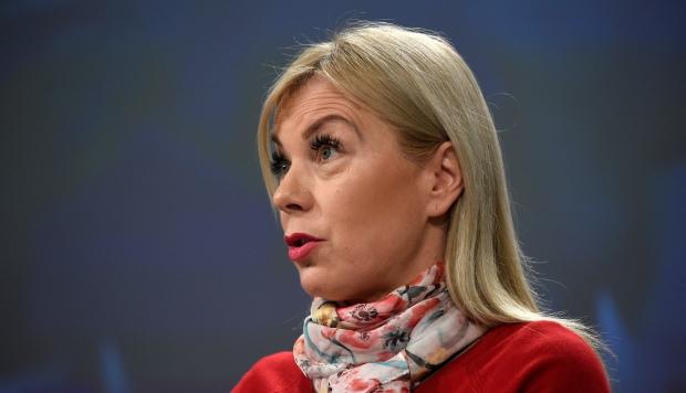 Elzbieta Bienkowska, comisaria europea de Industria, dijo percibir