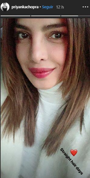 Así luce Priyanka Chopra tras renovar su look. (Foto: Instagram)