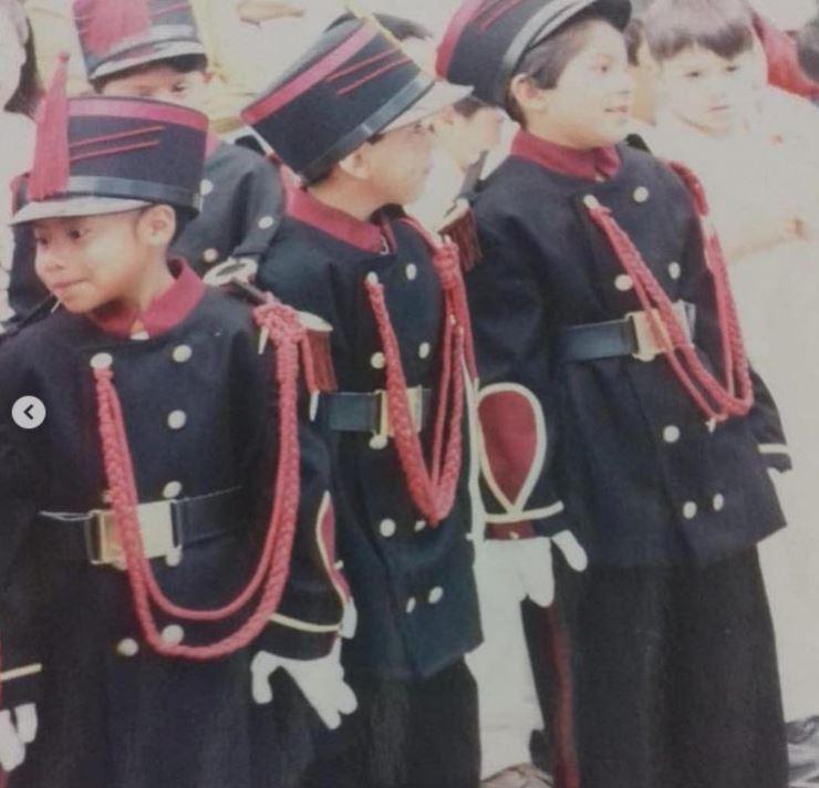 Yalitza Aparicio y sus fotografías cuando era niña. (Foto: Instagram)