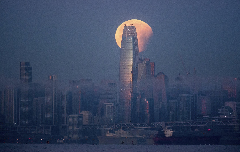 Torre Salesforce en San Francisco. (Foto: AP)