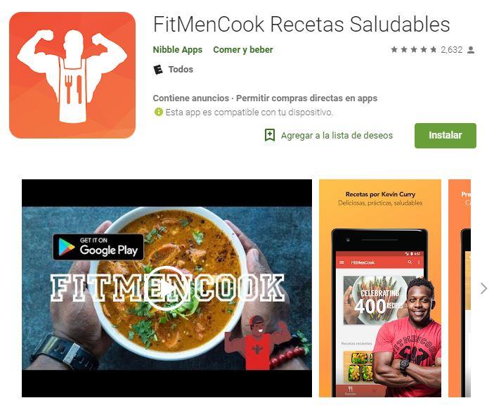 La cantidad de seguidores que tiene este cocinero en las redes sociales, avalan sus recomendaciones nutricionales. (Foto: Google Play)