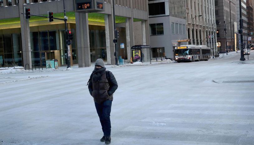 La ola de frío extremo causa 11 muertes y afecta a 210 millones en EE.UU. (Foto: AFP)