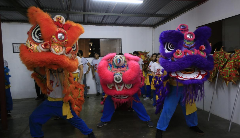 Desfile representa la llegada de Buda (máximo exponente de la religión china) a la ciudad. (Foto: Jessica Vicente)
