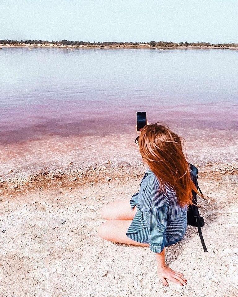 África también tiene su laguna rosa y está en la península de Sengal. (Foto: @Margaretmstyle)