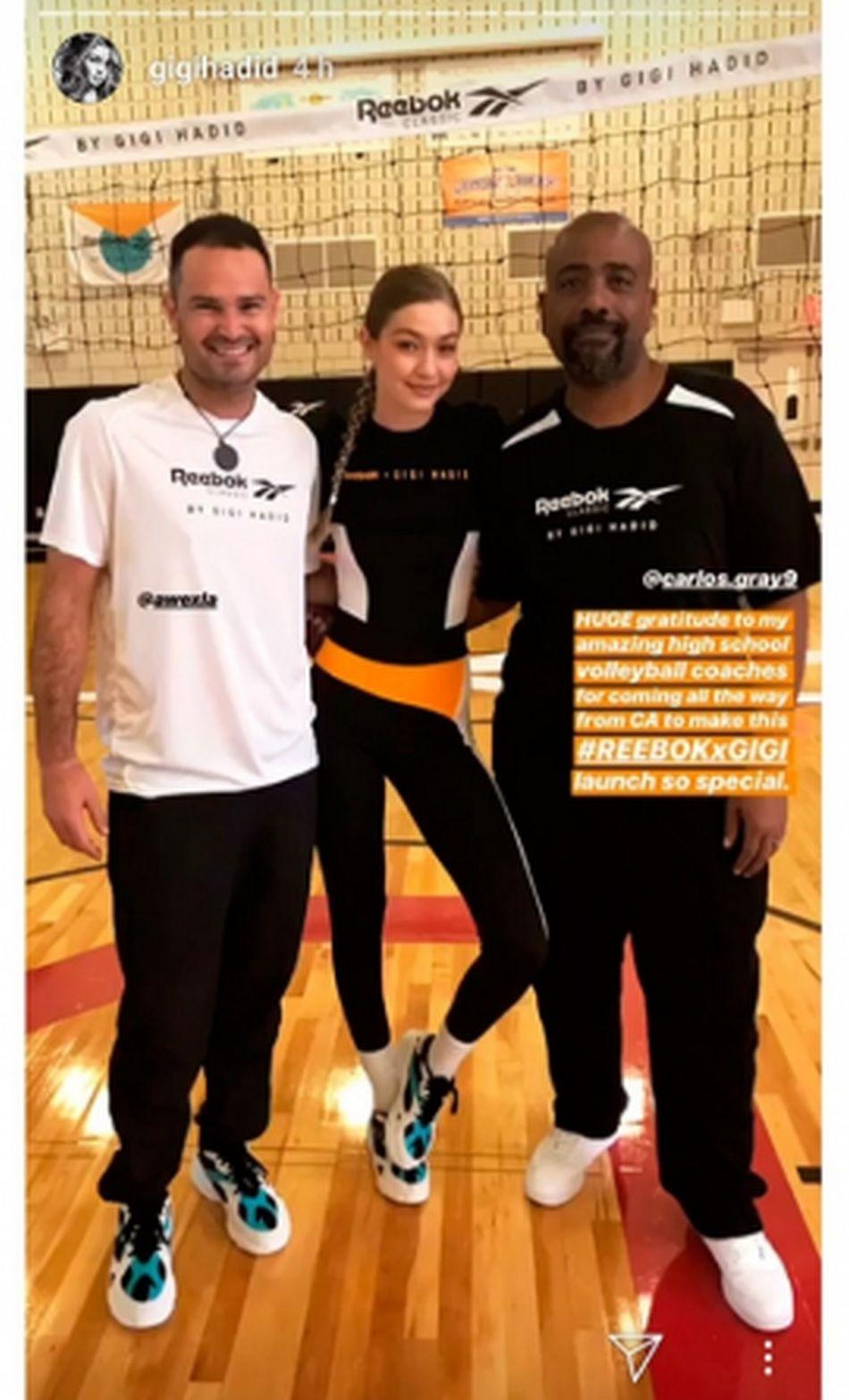 Gigi Hadid le agradeció de manera especial a sus exentrenadores por acompañarla en ese gran día. (Foto: Instagram)