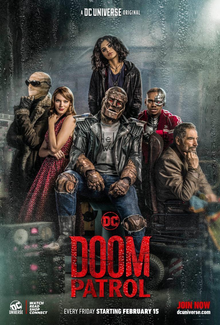 Doom Patrol se estrena la próxima semana. (Foto: DC)
