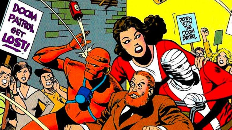 Doom Patrol es un grupo rechazado por la sociedad por su fantásticos poderes. (Foto: DC)