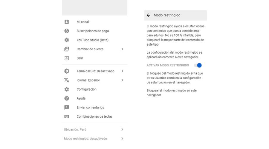 Así puedes configurar YouTube para que sea seguro para tus hijos. (Foto: Google)