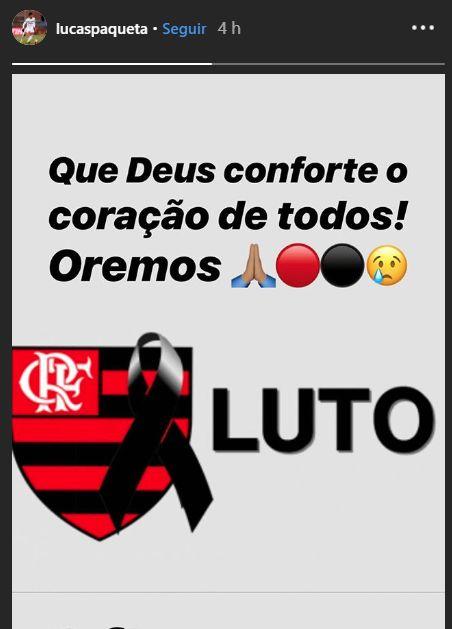 El lamento de Lucas Paquetá tras la tragedia