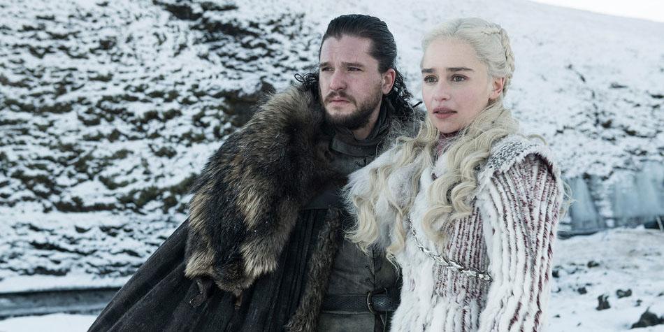 ¿Dónde están exactamente Jon Snow y Daenerys Targaryen? ¿Podría ser que se encuentren más allá del Muro? (Foto: HBO)