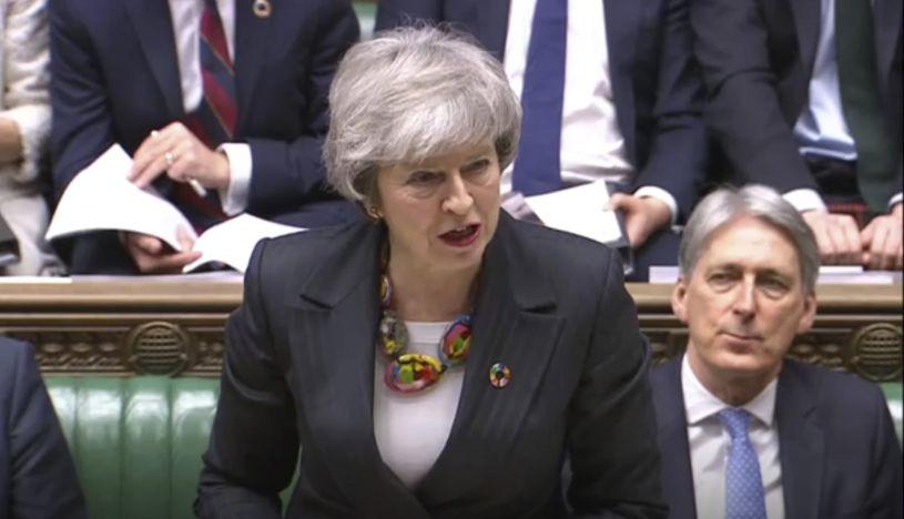 Primera ministra británica, Theresa May. (Foto: AFP)