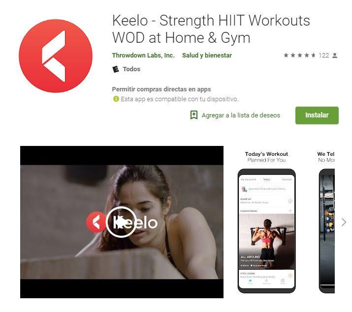 Keelo te ofrecerá grandes beneficios para tu salud. (Foto: Google Play)