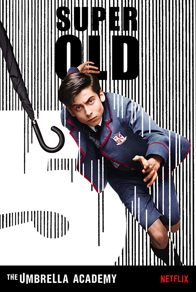 Aidan Gallagher – Number Five / The Boy (Foto: Netflix)