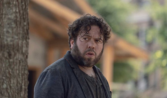 Dan Fogler  interpreta a Luke en The Walking Dead (Foto: AMC)