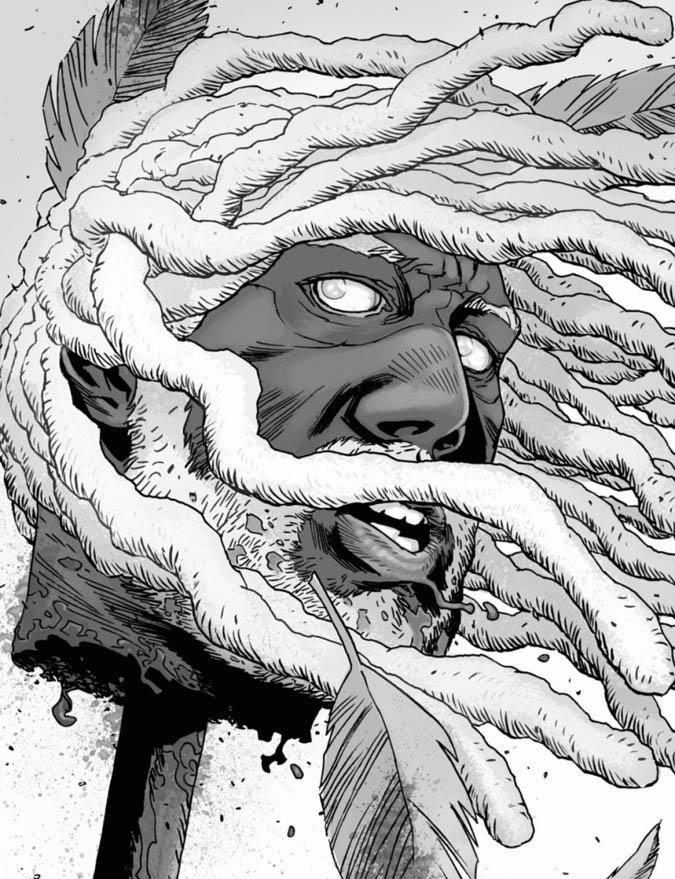 ¿Ezekiel tendrá el mismo final que su par en los cómics?(Foto: Image Comics)