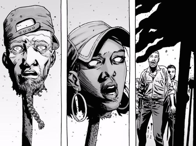 Estos sucede en los cómics en los primeros enfrentamientos contra los Susurradores (Foto: Image Comics)