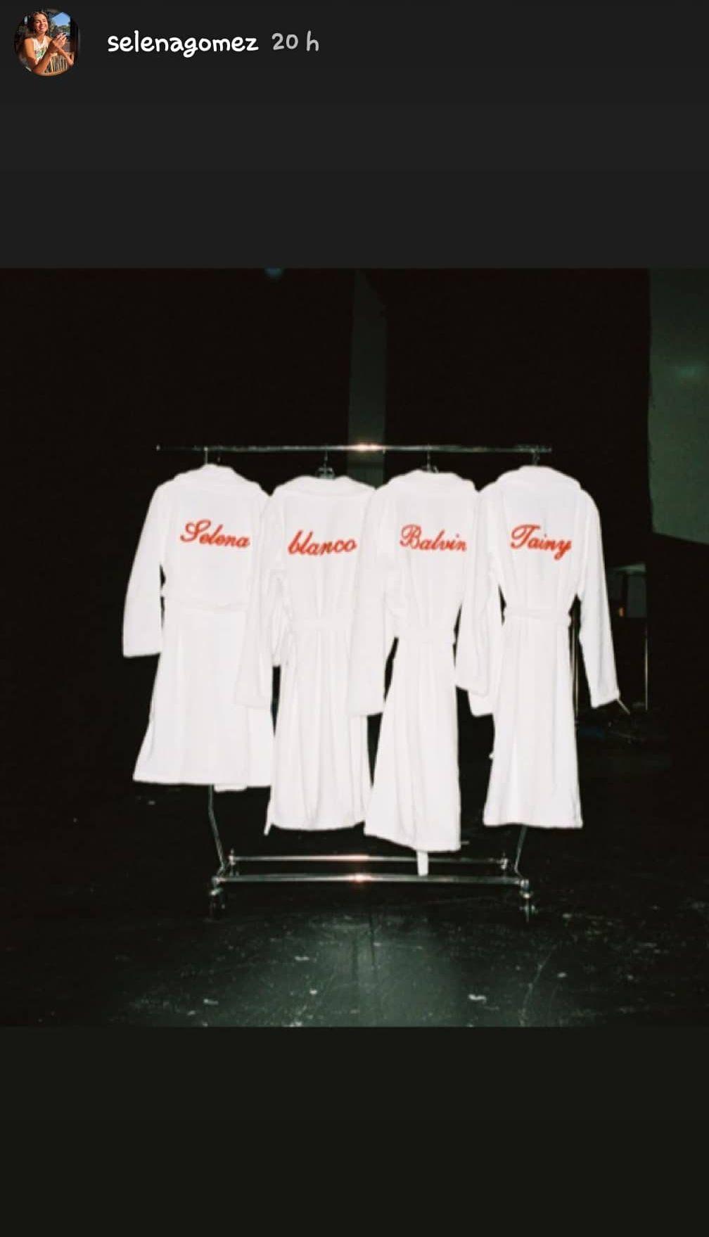 Selena Gomez y J Balvin están trabajando en una colaboración juntos. (Foto: @selenagomez)