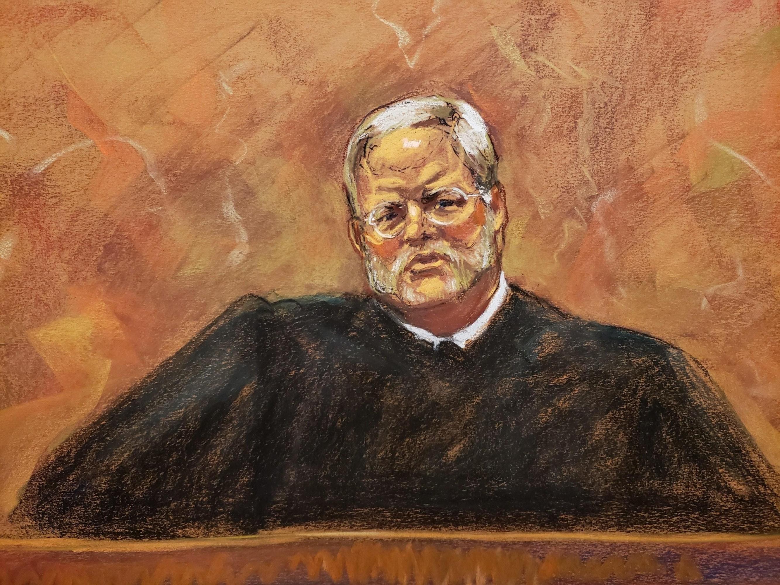 Juez de la corte federal de Brooklyn, Brian Cogan. (Foto: EFE)