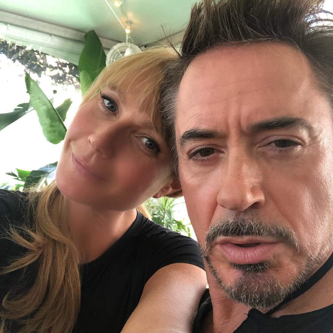 Gwyneth Paltrow se despide de Robert Downey Jr. (Foto: Instagram)