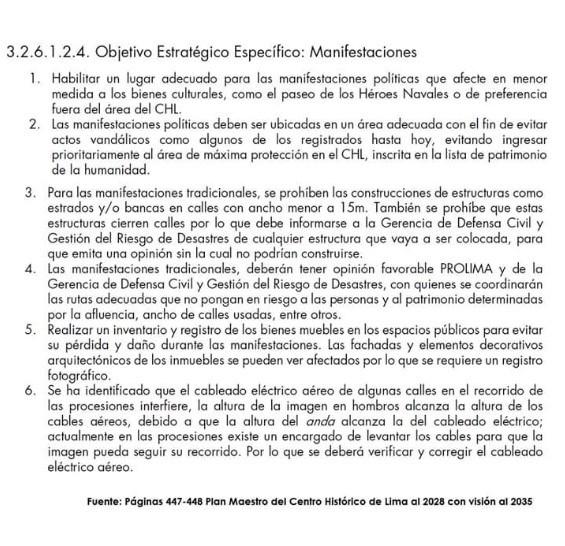 (Foto: Plan Maestro del Centro Histórico de Lima)
