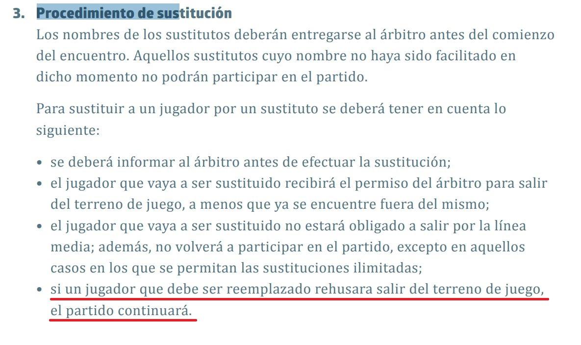 La explicación de la IFAB sobre el caso de Kepa en final de Carabao Cup.