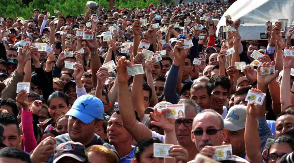 Crisis en Venezuela. (Foto: EFE)