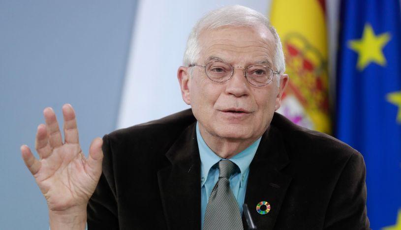 El ministro de Asuntos Exteriores de España, Josep Borrell. (Foto: EFE)