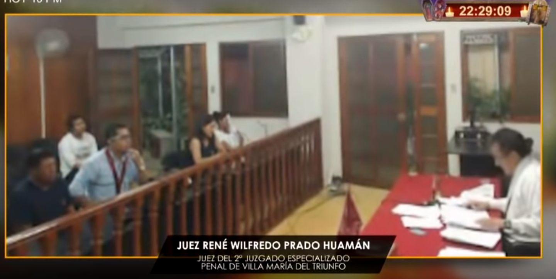 René Wilfredo Prado Huamán, del 2° Juzgado Especializado Penal de Villa María del Triunfo de la Corte Superior de Justicia de Lima Sur. (Foto: Nunca Más)