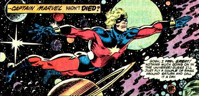 Mar-vell también poseía Alerta Cósmica, que podía incrementar su intelecto (Foto: Marvel)
