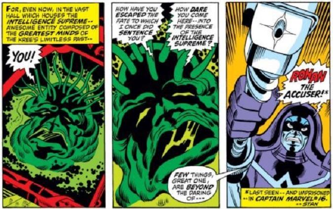 La Inteligencia Suprema contra Ronan el Acusador  (Foto: Marvel)
