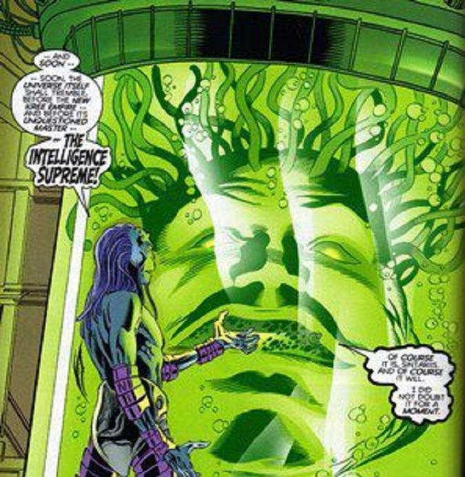 La primera aparición de la Inteligencia Suprema fue en Fantastic Four #65 (Foto: Marvel)