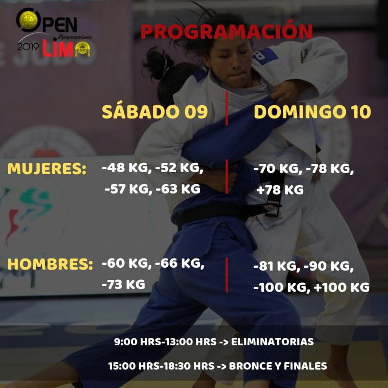Esta es la programación del Open Panamericano Lima 2019. (Foto: Difusión)