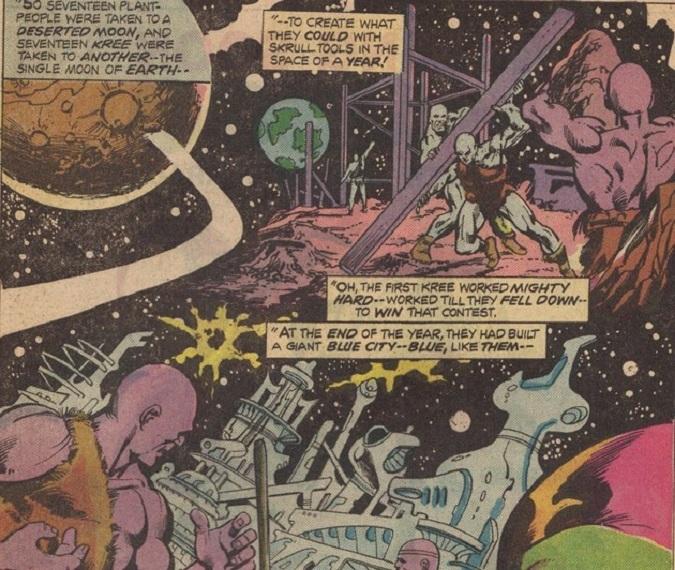 Los Kree tienen una mentalidad militar científicamente avanzada (Foto: Marvel)
