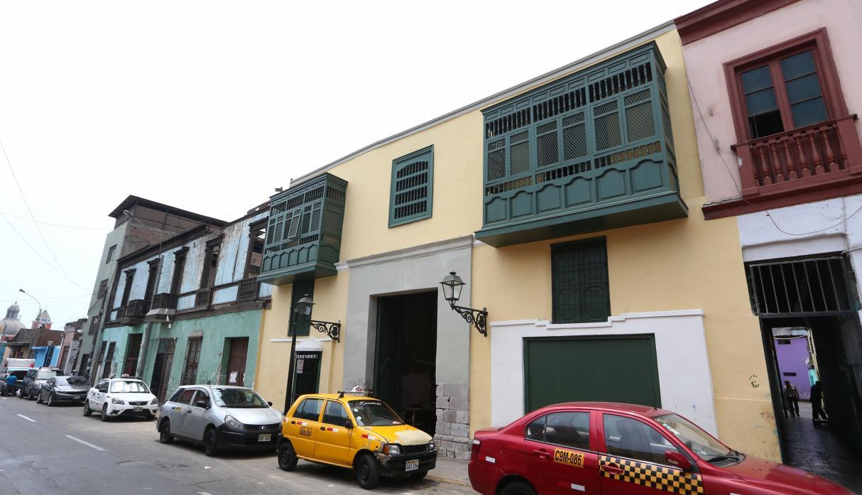 La casa de la 'Morena de Oro' está en la cuadra nueve del jirón Áncash, en el Centro de Lima. (Foto: GEC)