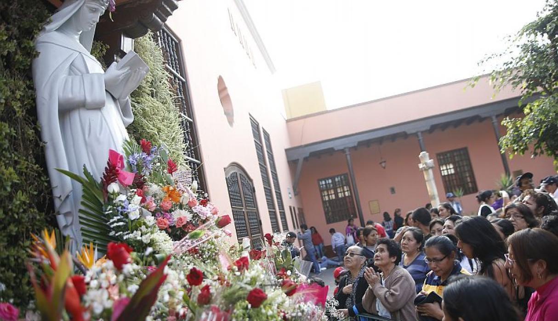 El santuario se emerge en la primera cuadra de la avenida Tacna. (Foto: GEC)