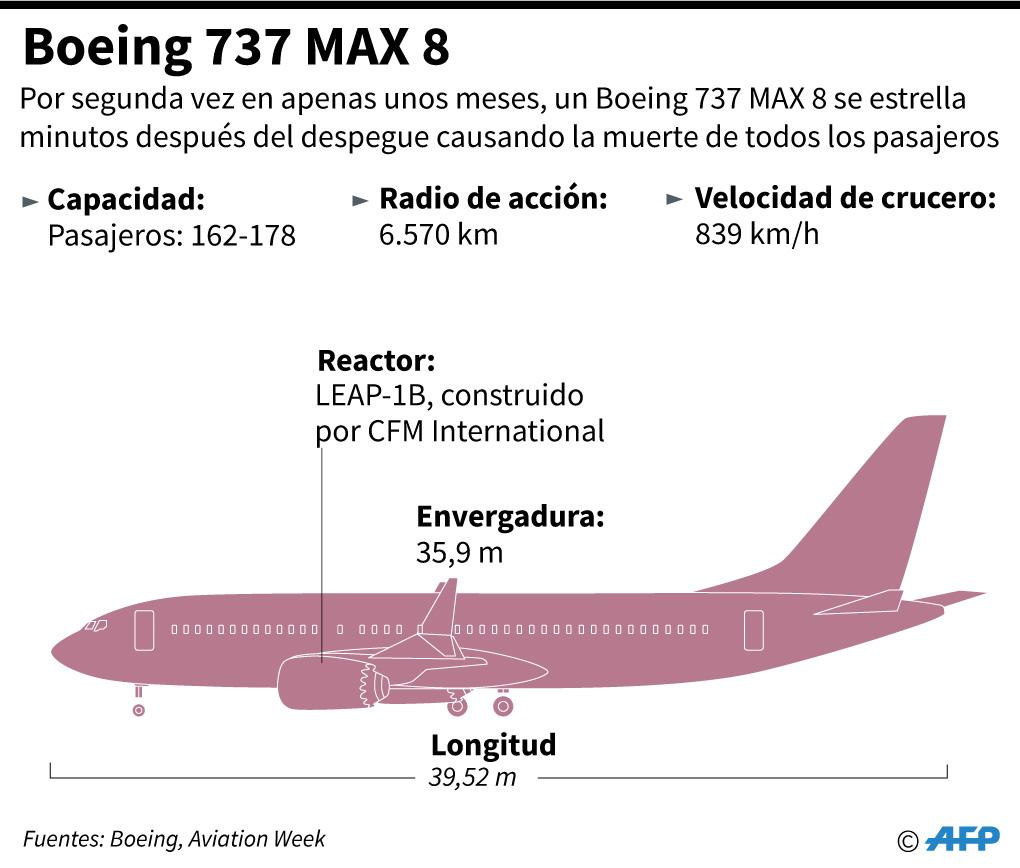¿Cómo es el Boeing 737 MAX 8? (Foto: AFP)