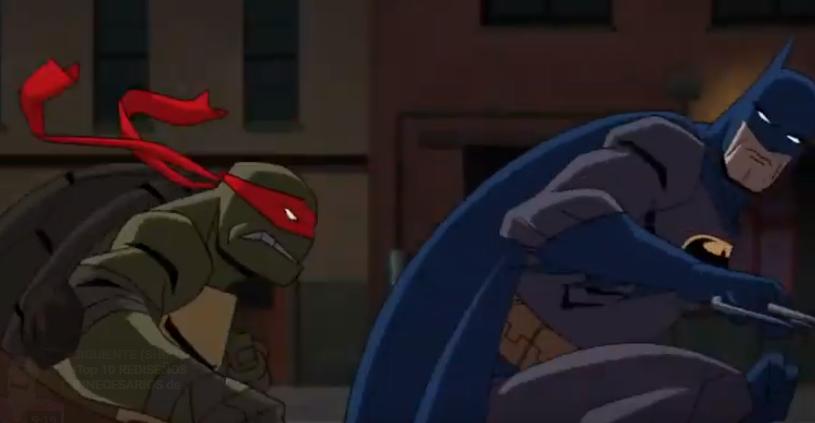 Batman se enfrenta a Rafael en el tráiler. (Foto: Captura de pantalla)