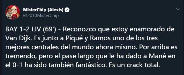 Twitter Mister Chip
