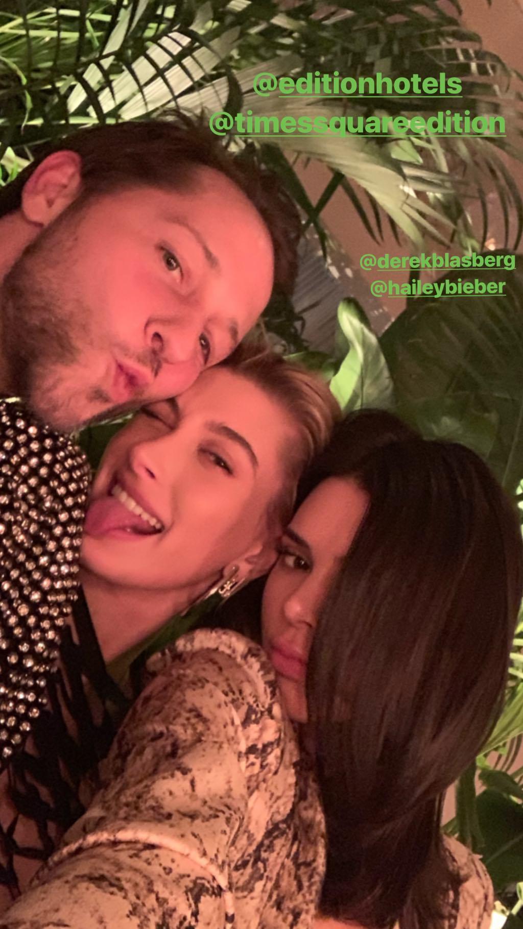 Kendall Jenner muestra la gran amistad que tiene con la pareja de Justin Bieber. (Foto: Instagram)