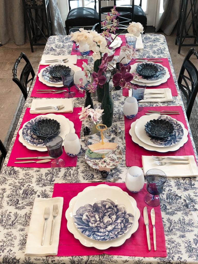 Elegante, imponente y divertida así podría quedar tu mesa con estas recomendaciones. (Foto: La Página de Grace)