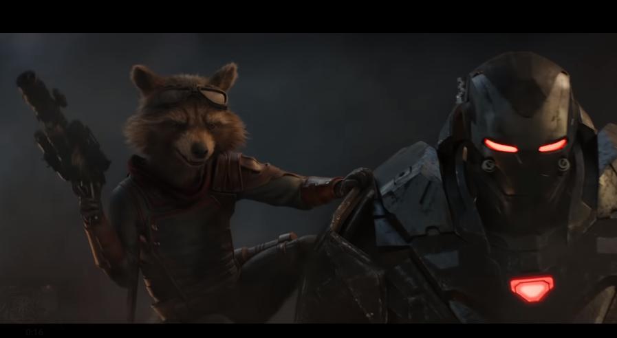 Rocket Raccoon y Maquina de Guerra en nuevo avance. (Fotos: Marvel)