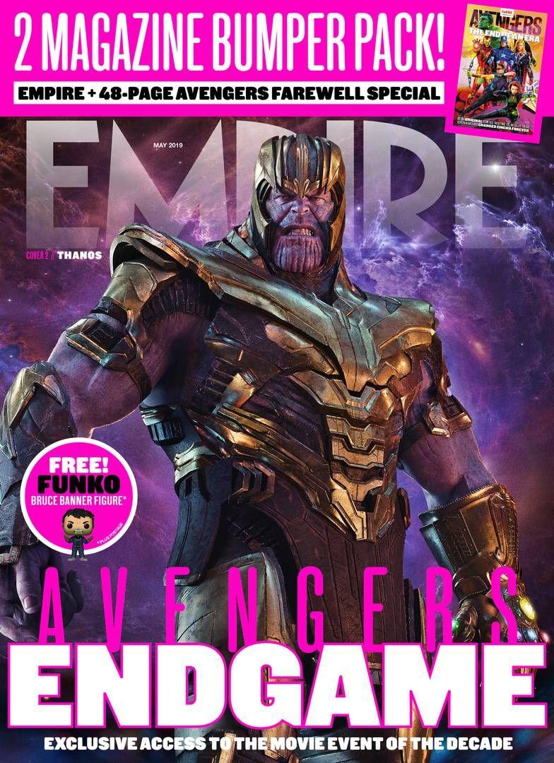 En la portada de la edición en español de Empire se ve a Thanos con su imponente armadura de batalla. (Foto: Empire)