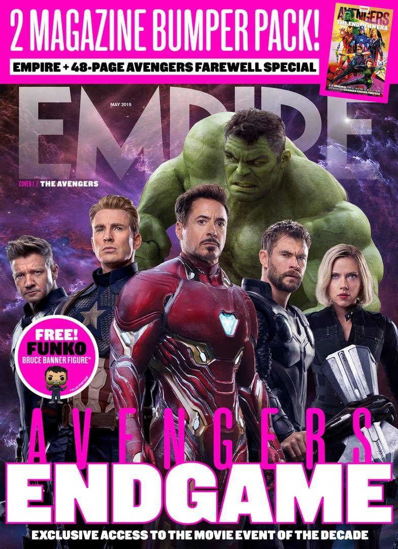 En esta portada se aprecia a los seis Avengers originales listos para la batalla. (Foto: Empire)