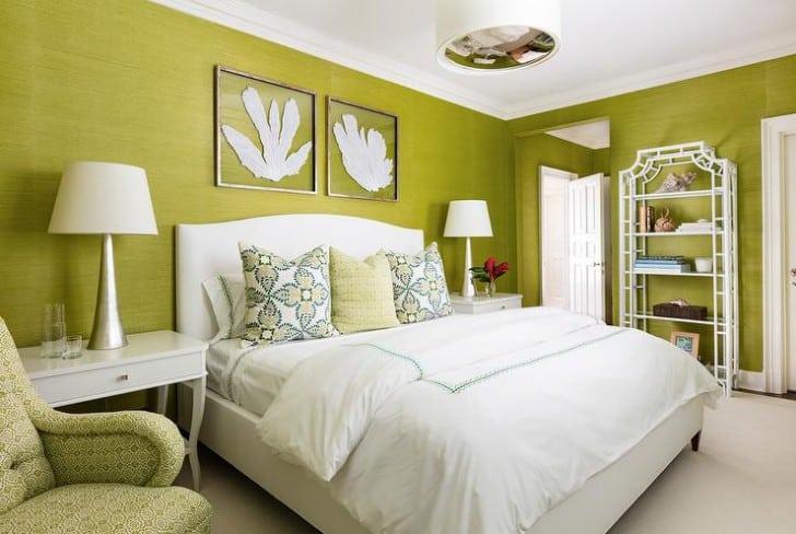 Un dormitorio verde te llenará de frescura. (Foto: Toulouse Lautrec)