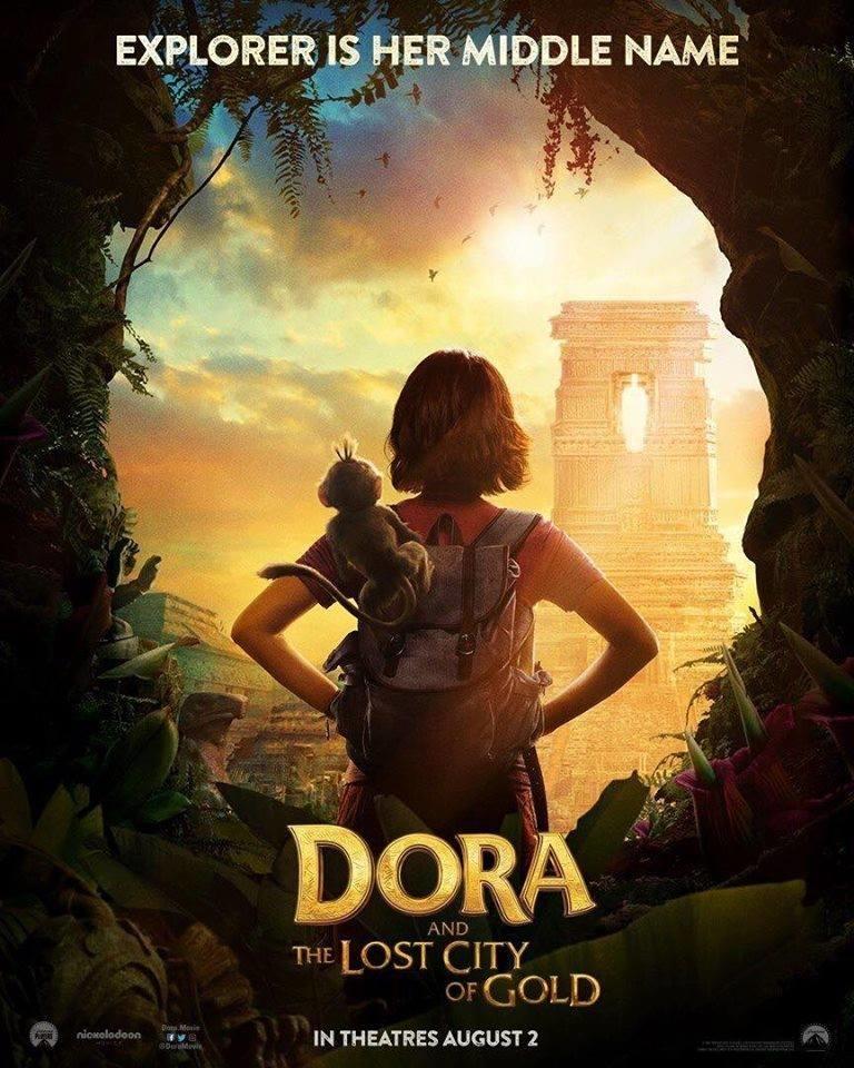 Isabela Moner protagoniza el primer póster oficial de la película