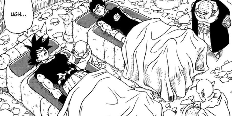 Dragon Ball Super en la edición del manga número 46. (Foto: Toyotaro)